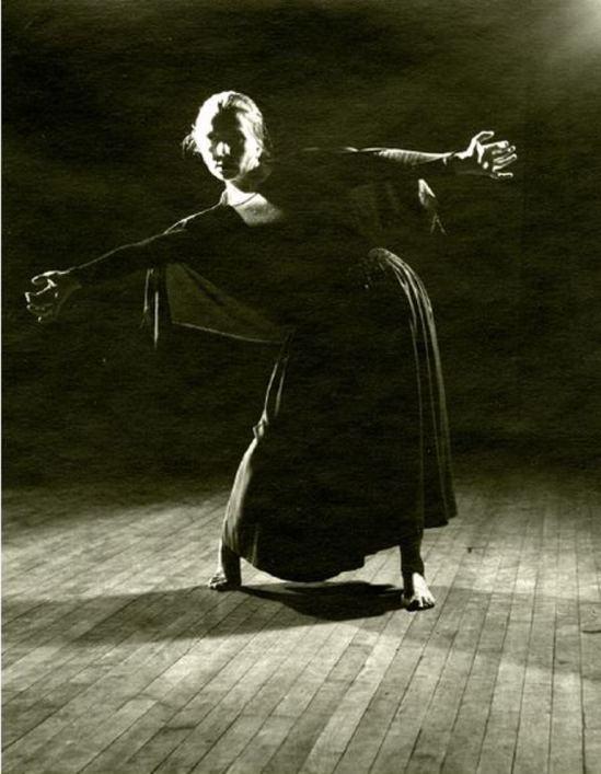 Barbara Morgan. Hanya Holm, Trend 1938 Via haggertymuseum