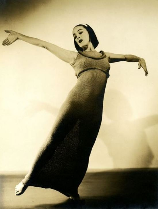 Barbara Morgan. Martha Graham, Ekstasis 1935 Via haggertymuseum