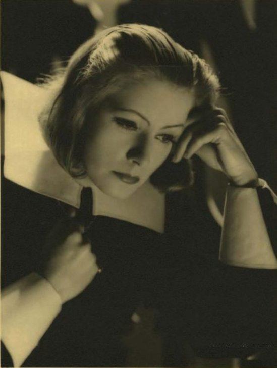 Clarence Bull. Greta Garbo in Queen Christina Via ebay