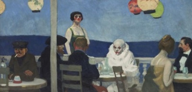 Edward Hopper. Soir bleu 1914