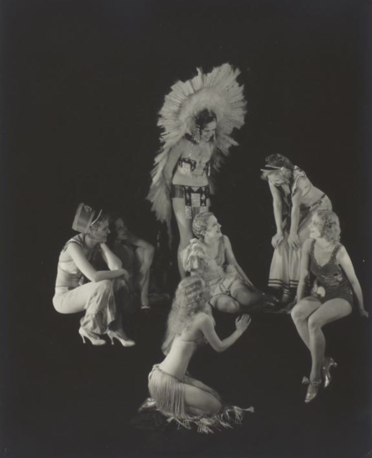 Edward Steichen. Showgirls 1923-1937 Via artic.edu