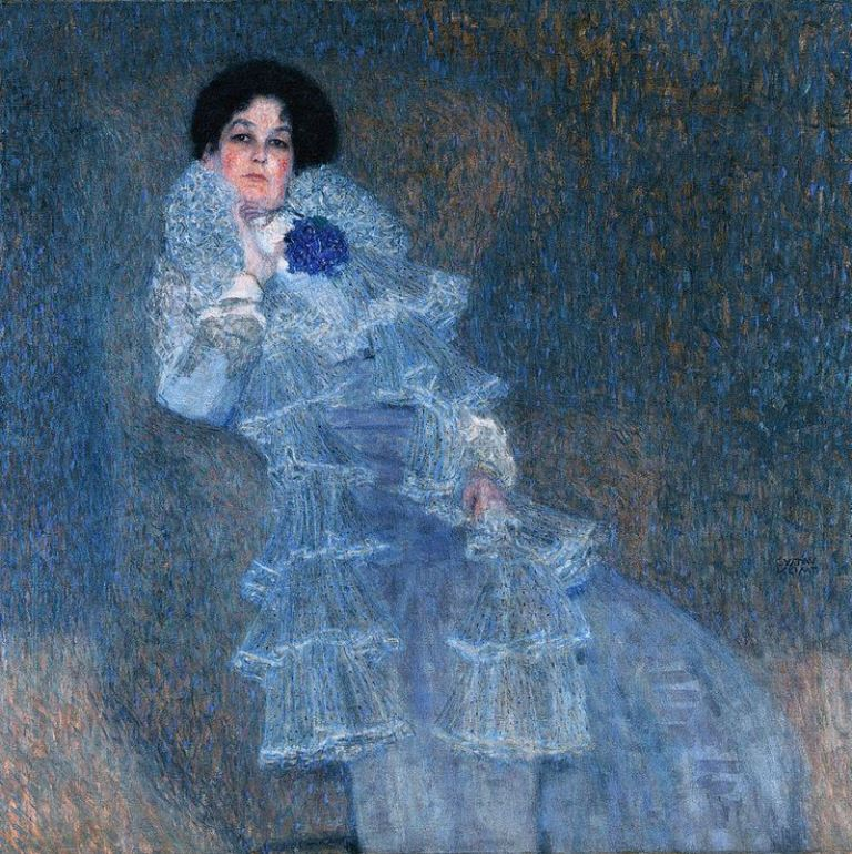 Gustav Klimt. Portrait de Marie Henneberg