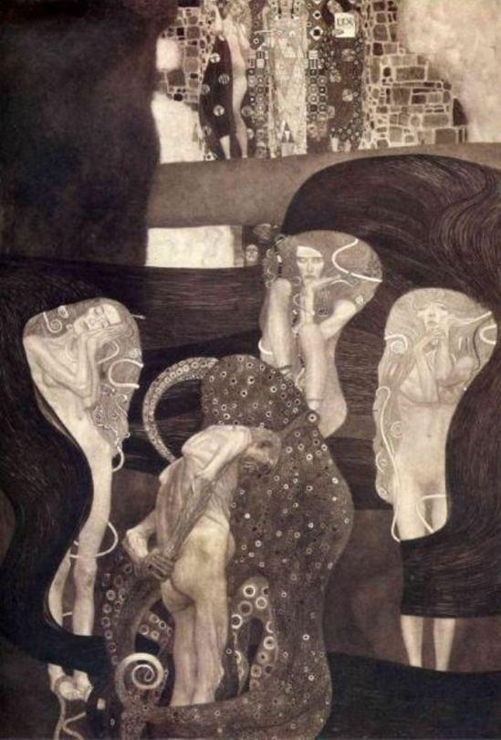 Gustav Klimt. La justice 1903