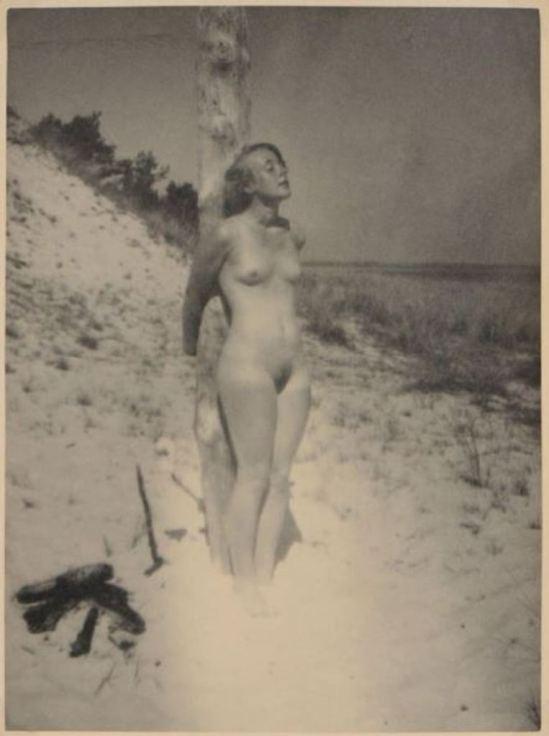Heinz von Perckhammer. Nu sur une plage 1930 Via drouot
