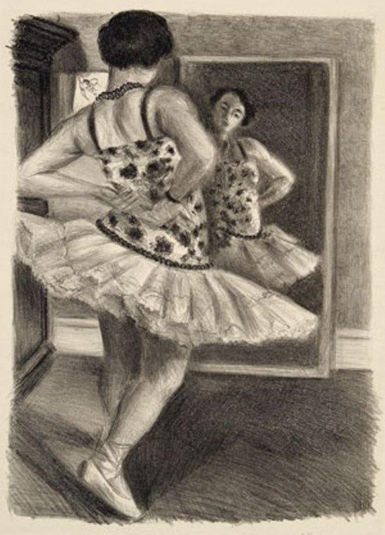 Henri Matisse. Danseuse reflétée dans la glace 1927