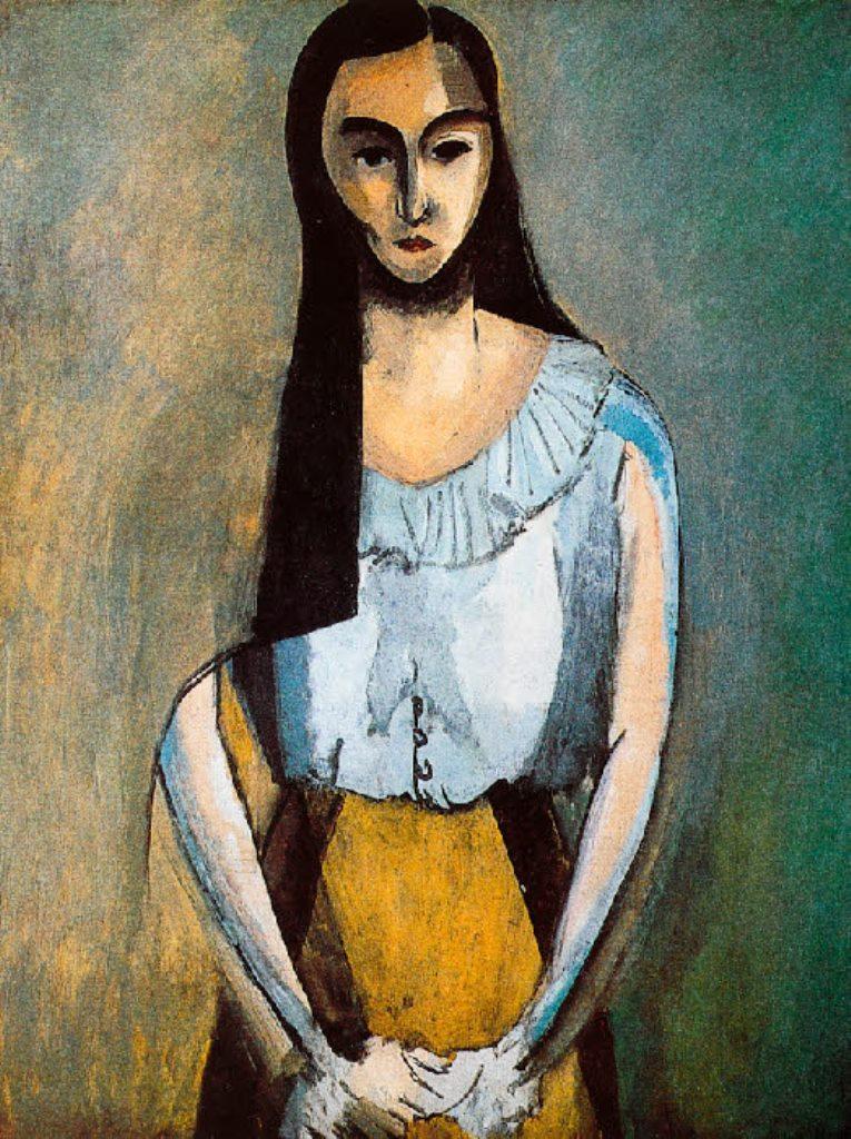 Henri Matisse. L'italienne 1916