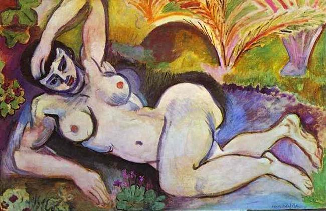 Henri Matisse. Nu bleu 1907