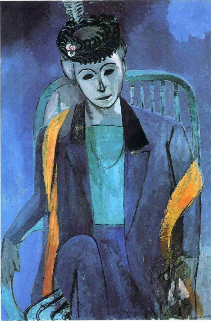 Henri Matisse. Portrait de Madame Matisse 1913