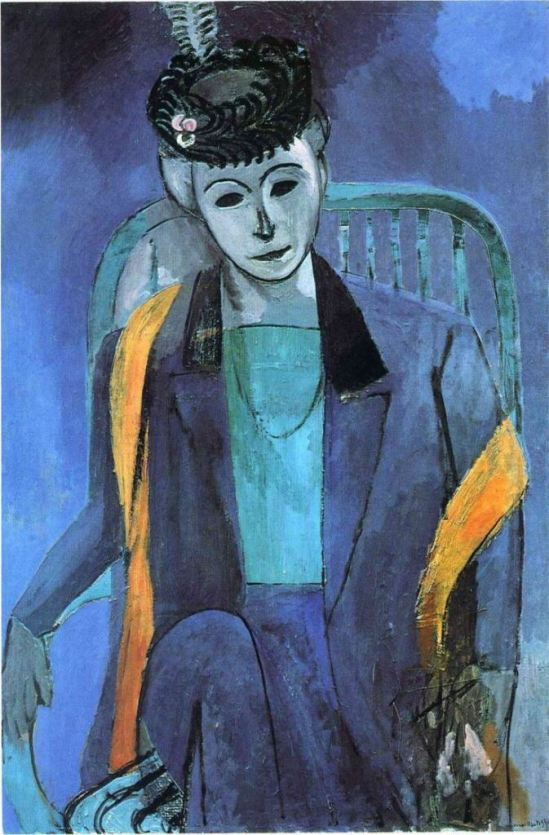 Henri Matisse. Portrait de Madame Matisse 1913