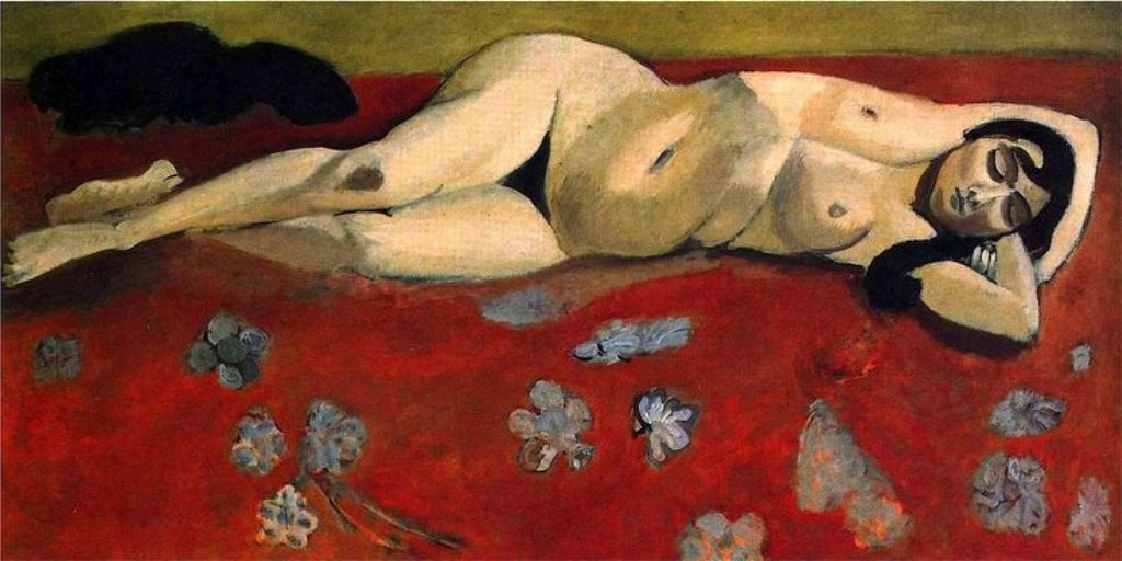 Henri Matisse. Sleeping nude  1916