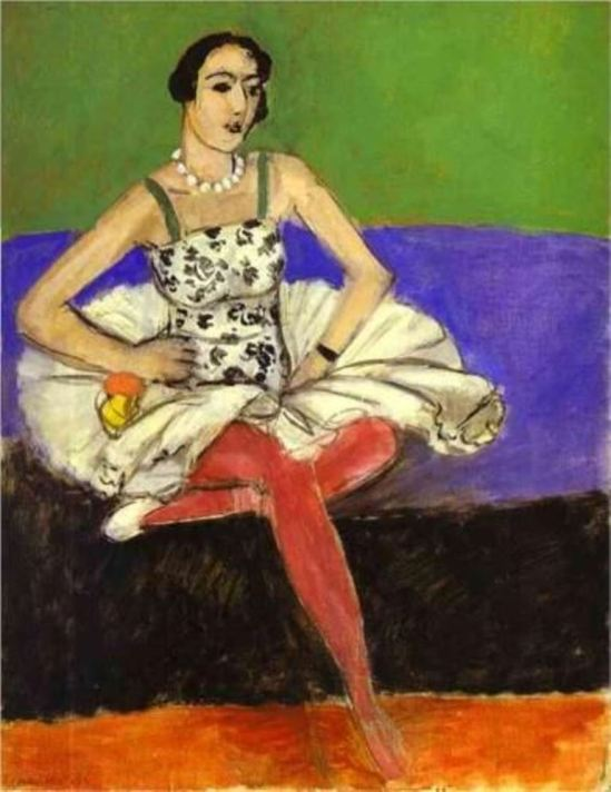 Henri MaTisse. The ballet dancer 1927