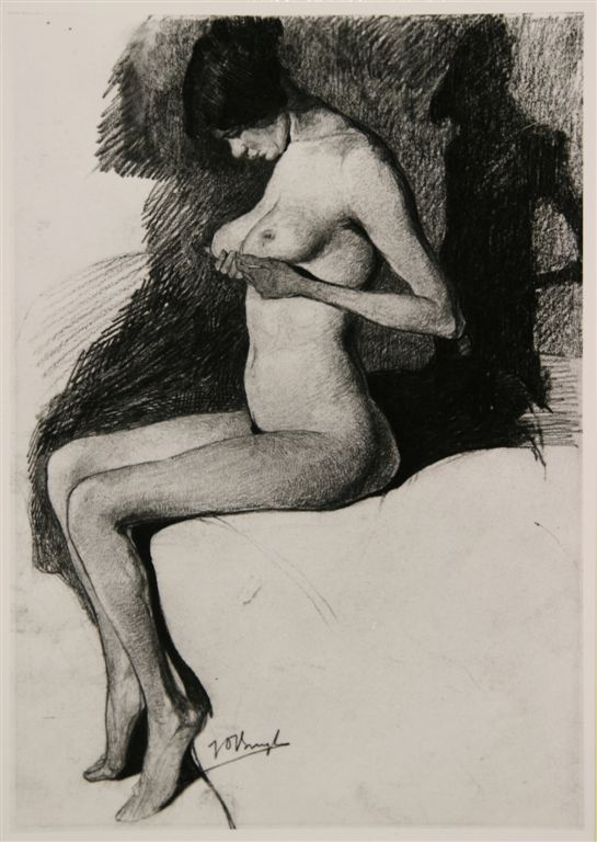 Jules De Bruycker. La petite Eva