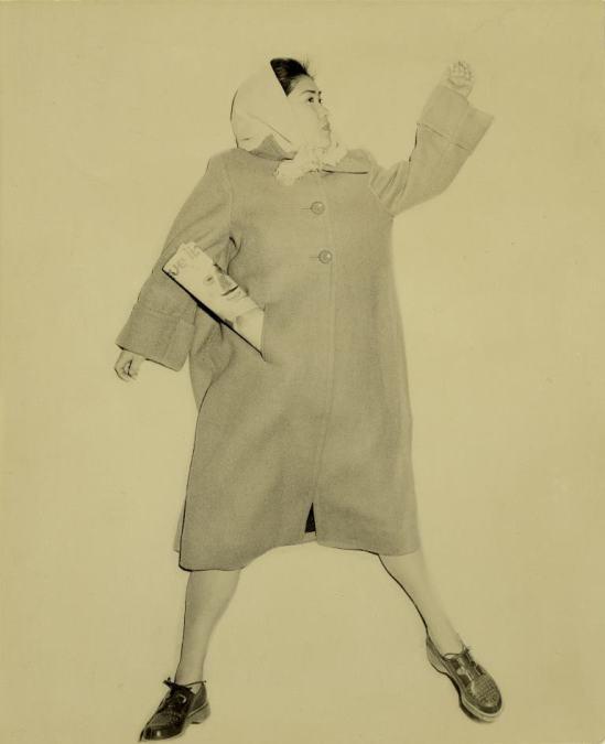Kansuke Yamamoto. Portrait of my wife 1953 ©Toshio Yamamoto
