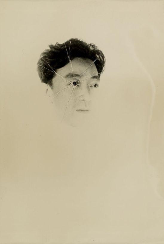 Kansuke Yamamoto. Self-portrait 1949©Toshio Yamamoto