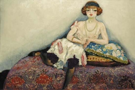 Kees van Dongen. Femme aux bas noirs 1907