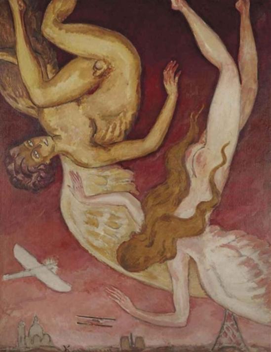 Kees van Dongen. La chute des anges 1922