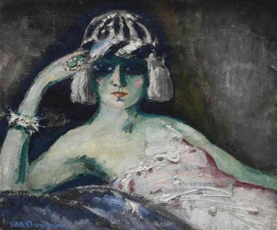 Kees van Dongen. La commère de revue 1908