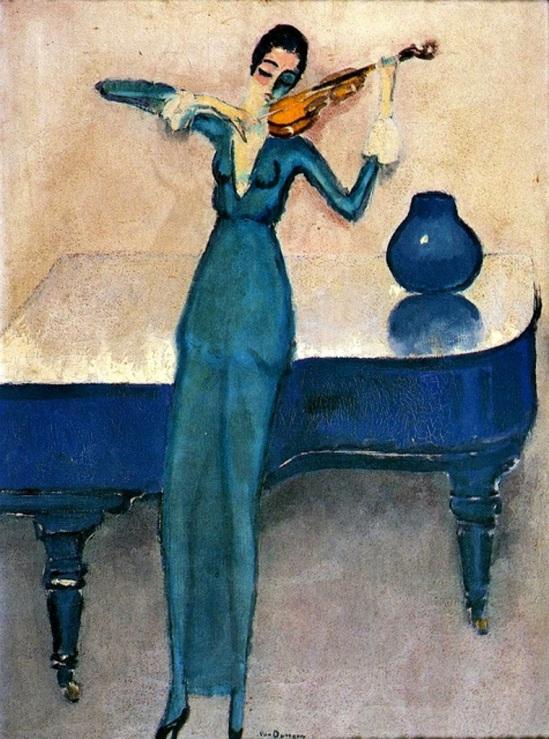 Kees van Dongen. La violoniste 1920