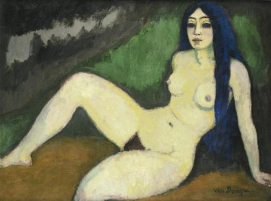 Kees van Dongen. Sirène espagnole 1912