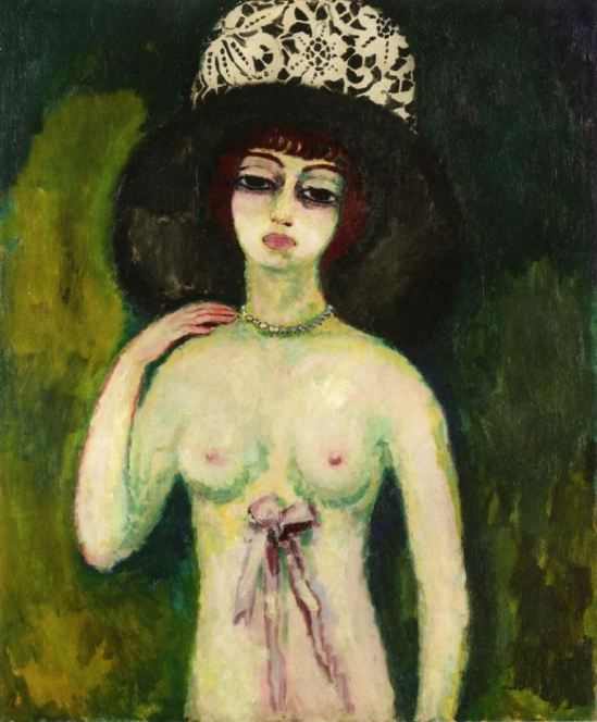 Kees van Dongen. The lace hat 1910