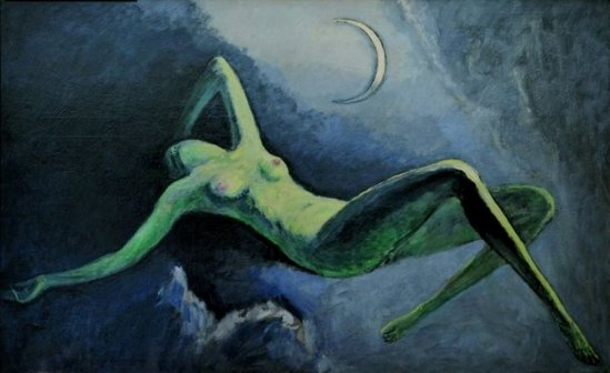 Kees Van Dongen. The night or the moon 1922