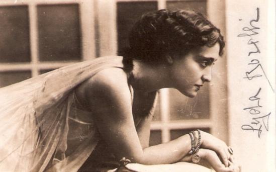 L'actrice Lyda Borelli (1884-1959)