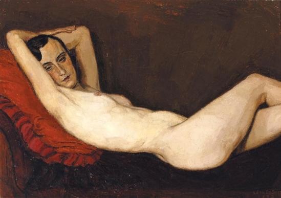 Léon  de Smet. Nu couché 1932