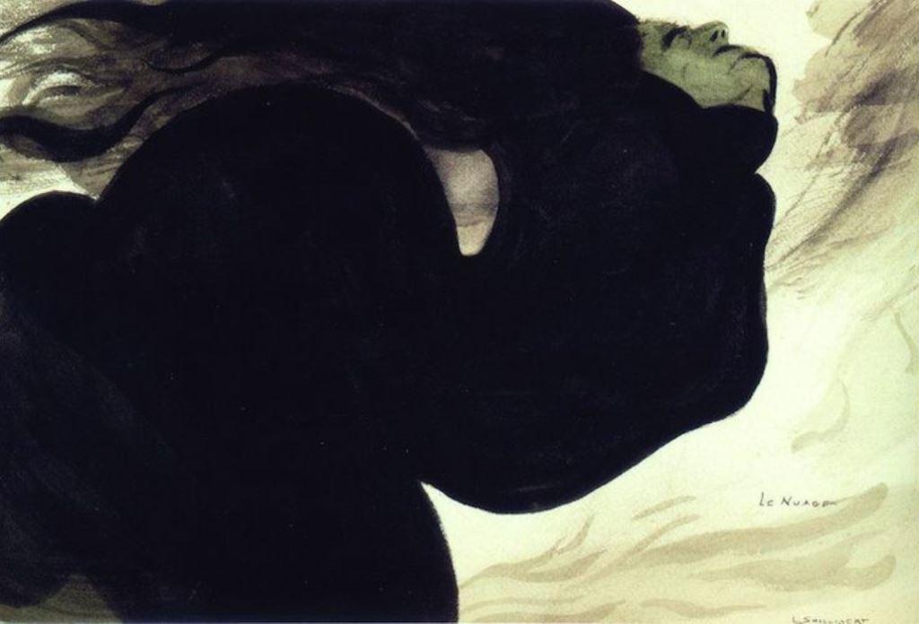 Léon Spilliaert. Le nuage 1902