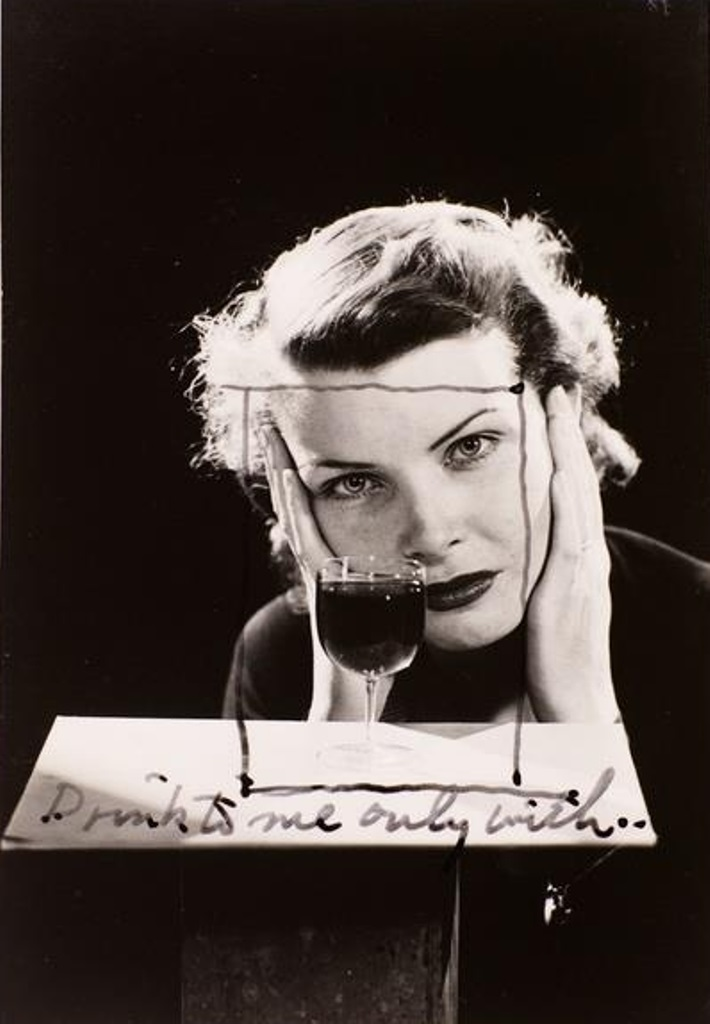 Man Ray. Drink to me only with vers 1930 Via RMN