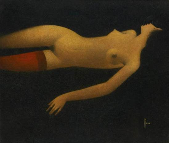 Maurice Musin. Le bas rouge