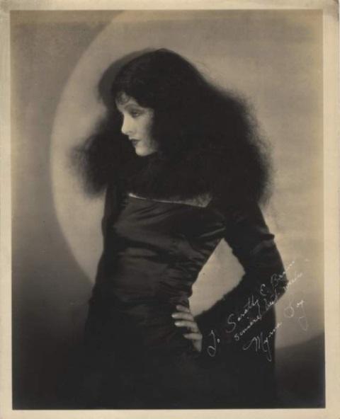 Myrna Loy late 1920