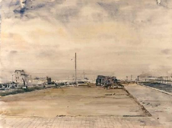 Paul Delvaux. Ostende 1940