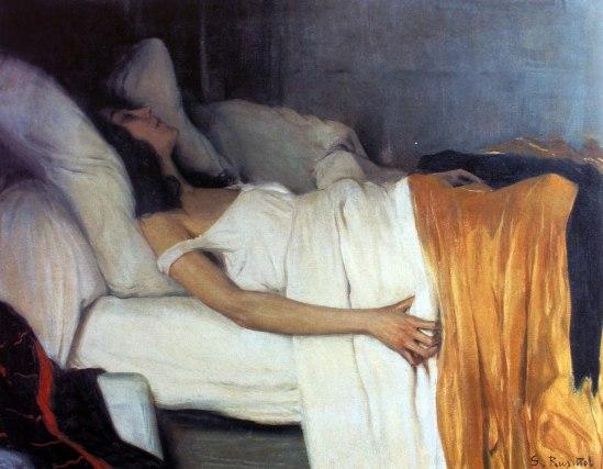 Santiago Rusinol. Morphine 1894