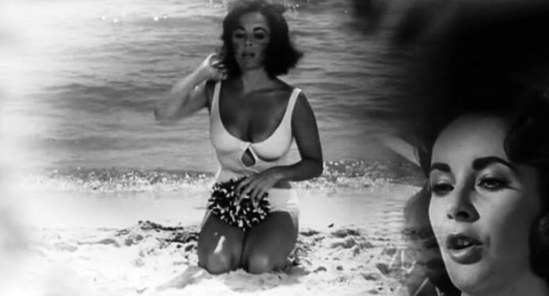 Elizabeth Taylor in Suddenly last summer directed by Joseph L. Mankiewicz 1959