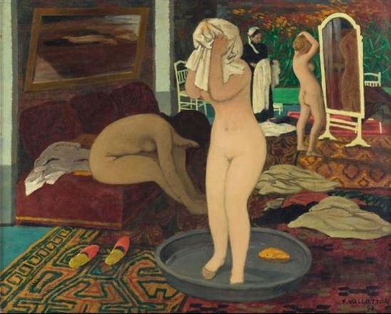 Félix Vallotton. Femmes à leur toilette 1897