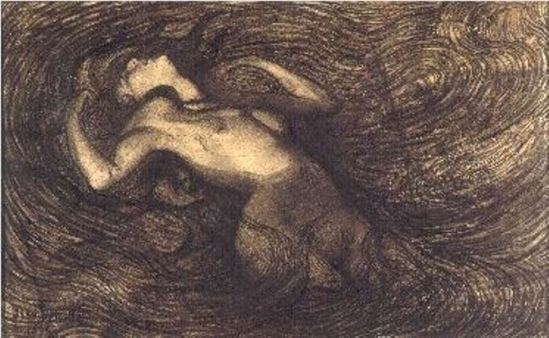 Jean Delville. Le cycle des passions 1890