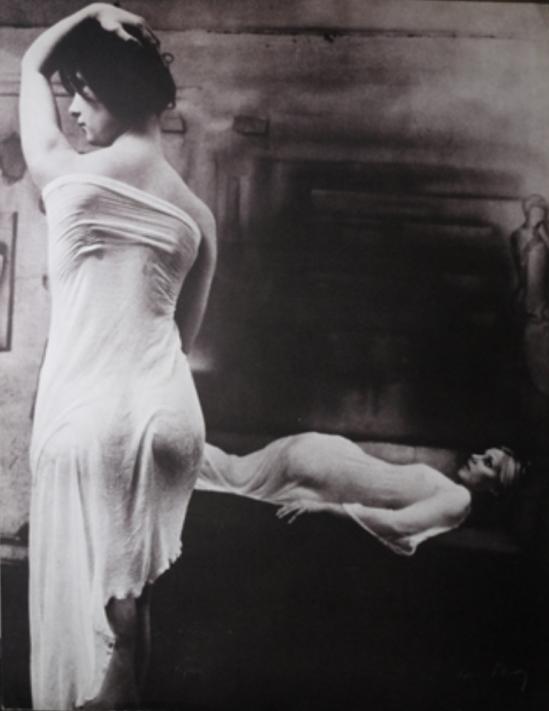 Karin Szekessy. Daniela als traum 1973 Via artnet