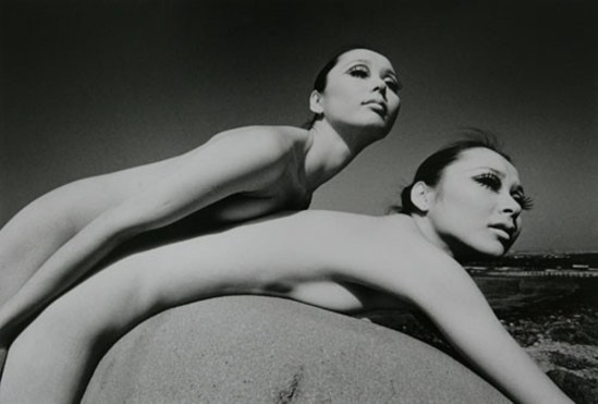 Kishin Shinoyama. Twin 1969 Via artnews
