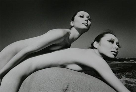 Kishin Shinoyama. Twin 1969 Via artnews