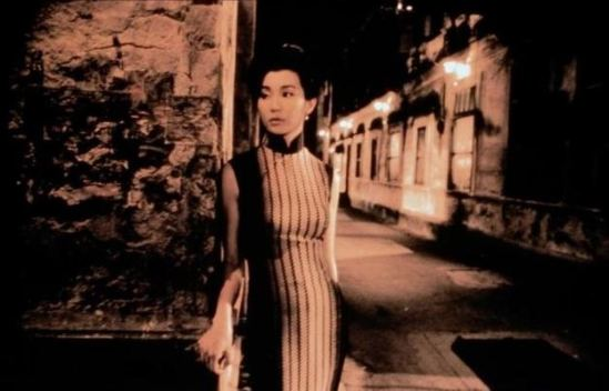 Maggie Cheung in The mood for love directed by Wong Kar-Wai 1999