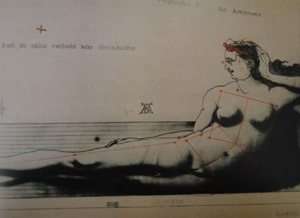 Paul Wunderlich. Eine nymphe aus Wien 1970