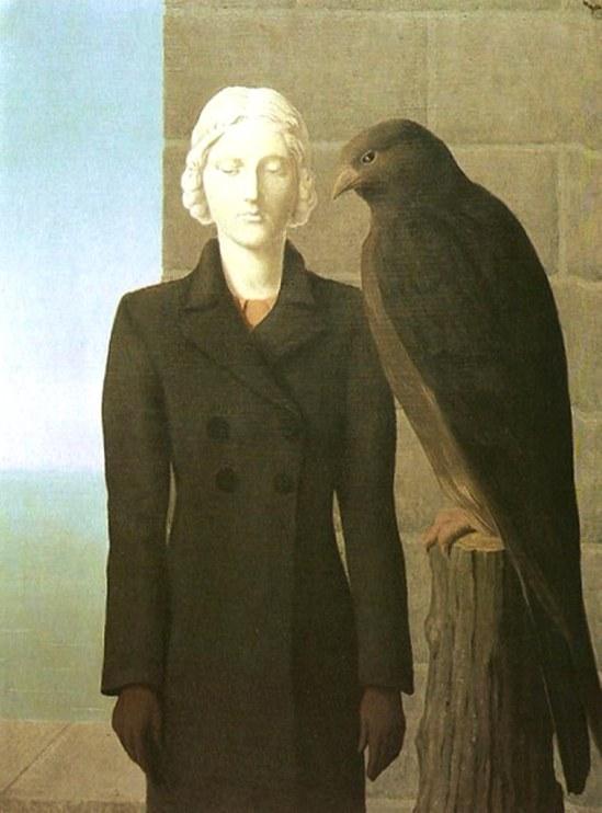 René Magritte. Deep waters 1941