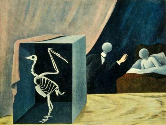 René Magritte. La grande nouvelle 1926