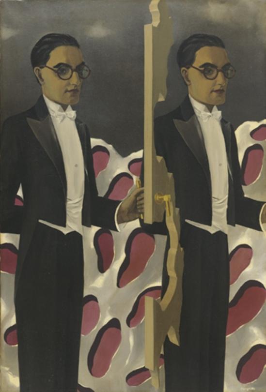René Magritte. Portrait de Paul Nougé 1927