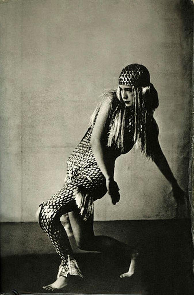Lucia Joyce dancing at Bullier Ball, Paris, May 1929 Via wikipedia
