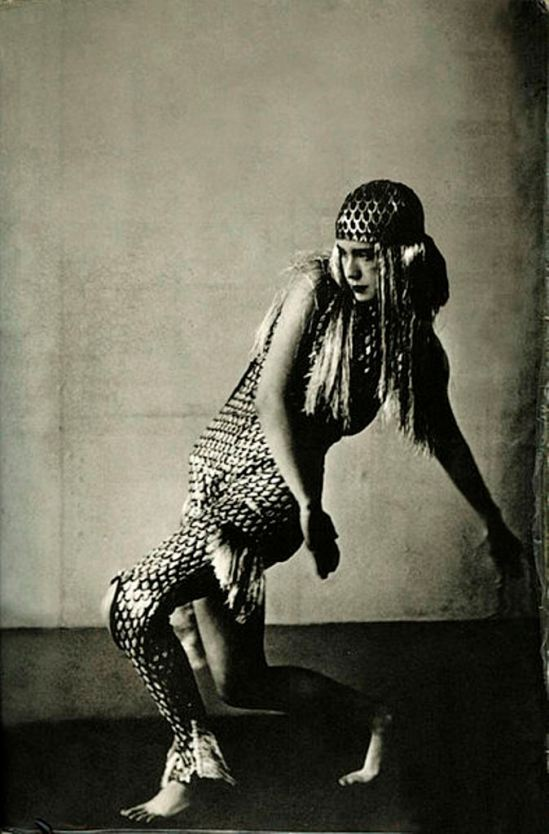 Lucia Joyce dancing at Bullier Ball, Paris, May 1929 Via wikipedia