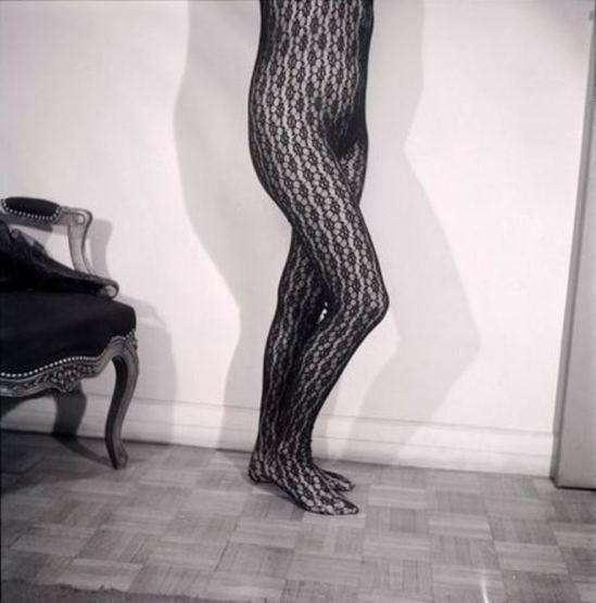 Man Ray. Juliet en collant noir à résilles vers 1950®Man Ray Trust, Adagp, Paris