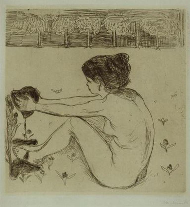 Edvard Munch. La femme et le coeur