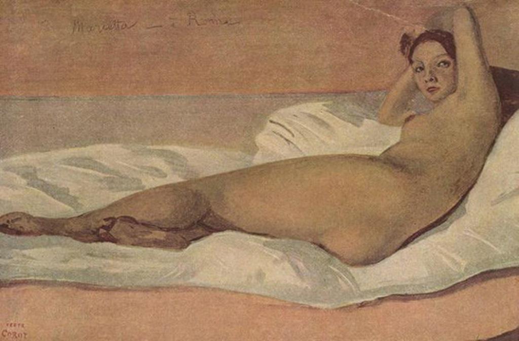 Jean-Baptiste Camille Corot. Marietta 1843