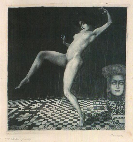 Luigi Bonazza. Ballerine 1908